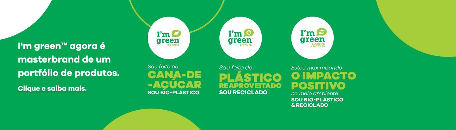Braskem amplia o seu portfólio de produtos I'm greenTM