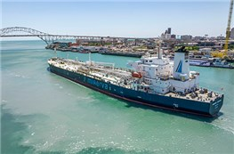 First carbon offset naphtha cargo - and we were on board