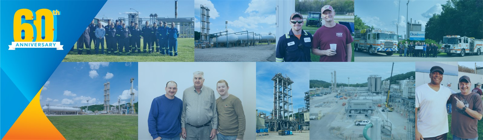 Braskem's Neal plant located in Kenova, West Virginia was originally founded in 1961.